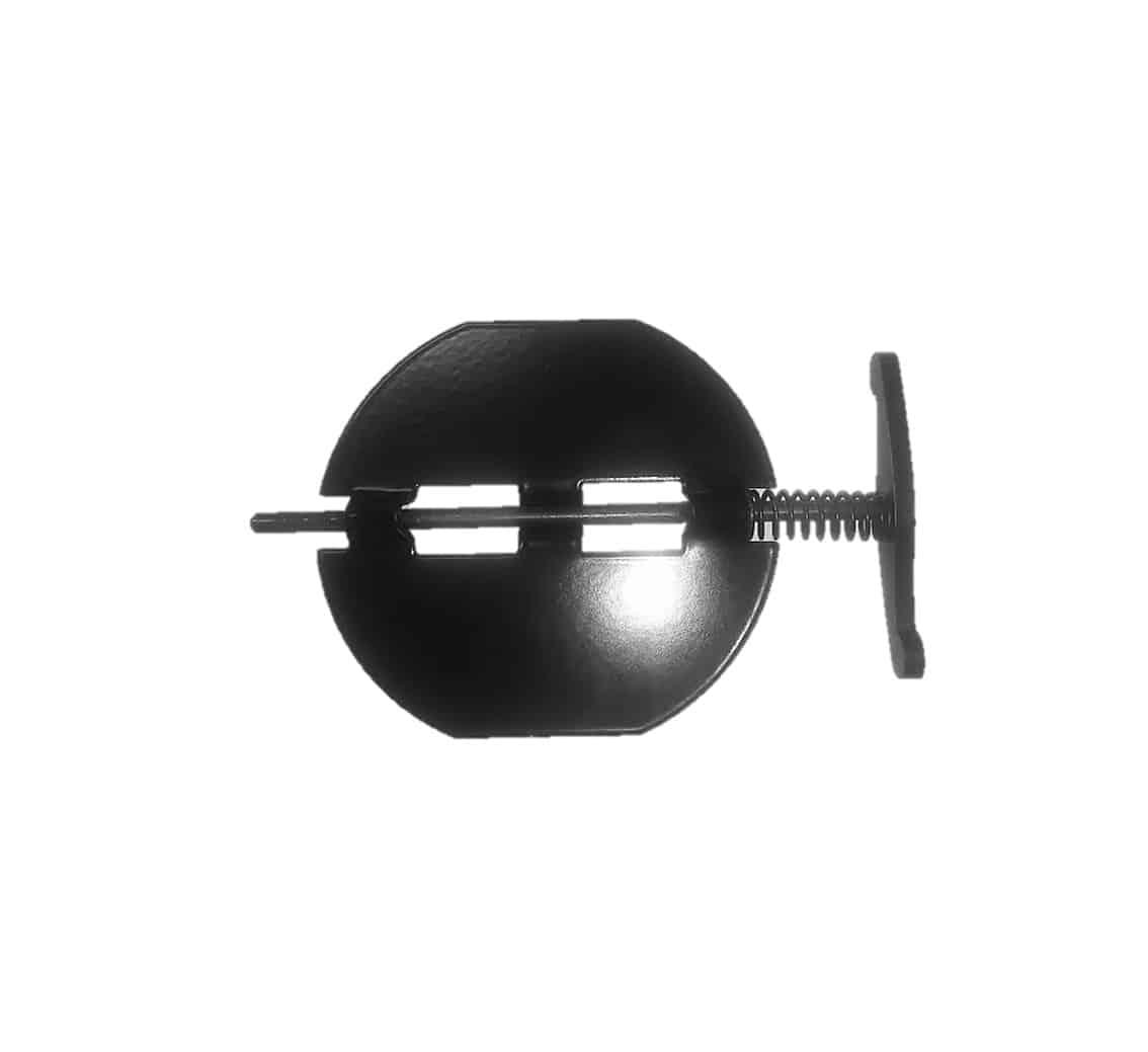 קלפה קפיצית נשלפת - ברזל בציפוי אמאיל