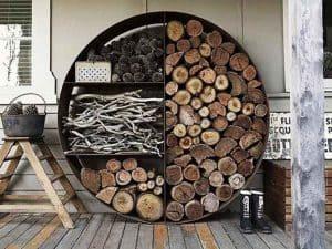 עץ הסקה קמין